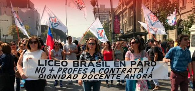 ESTE LUNES: PARO NACIONAL INDEFINIDO DEL PROFESORADO EN TODO EL PAÍS