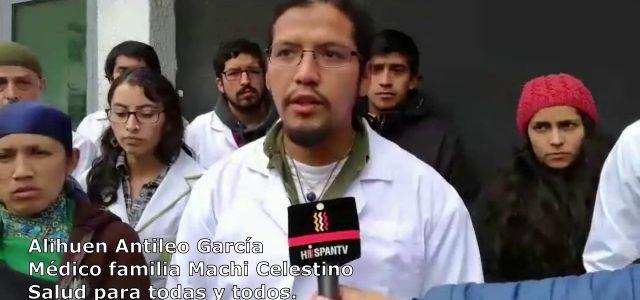 Exigen liberación de Doctor Alihuen Antileo García