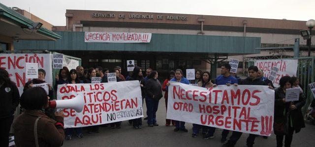 """Crisis en Hospital San José: Trabajadores afirman que """"contamos con 2 reanimadores para 1 millón de personas"""""""