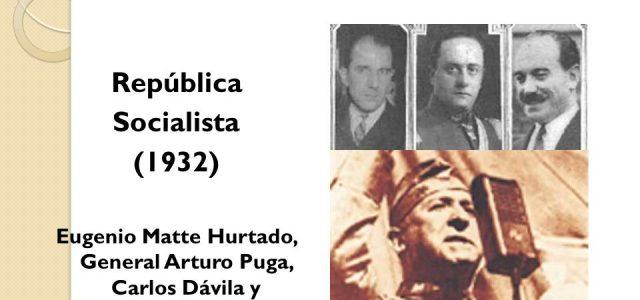 La República Socialista del 4 de junio de 1932 y el Chile de hoy. Por Esteban Silva