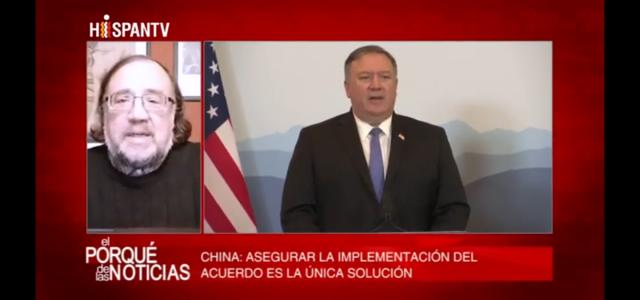 «El Porqué de las Noticias» de HispanTV. Esteban Silva analiza agresión de EEUU contra Irán y la posición de China frente al Pacto Nuclear.