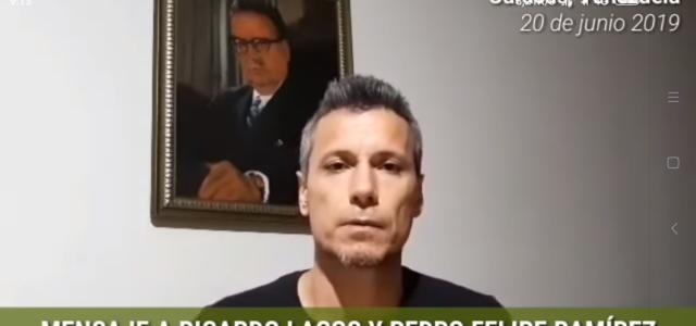 Nieto de Salvador Allende critica a ex Presidente Lagos y a ex embajador por sus ataques contra la democracia y el socialismo venezolano.