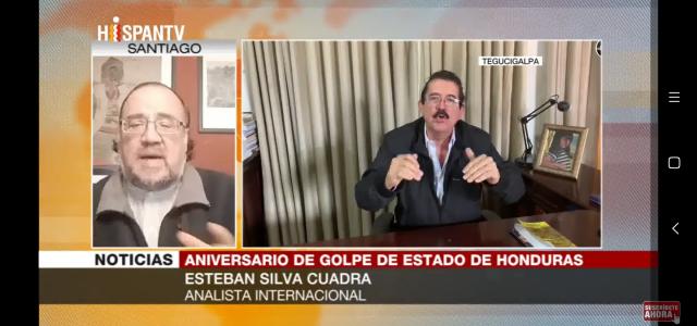 Manuel Zelaya era un peligro para EEUU. Análisis a 10 años del golpe en Honduras.