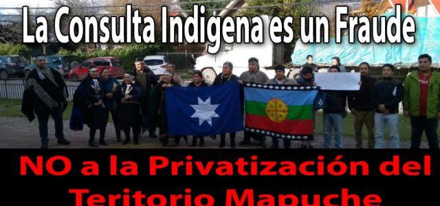 Consulta Indígena de Piñera-Moreno es la mayor amenaza a los Territorios Mapuche