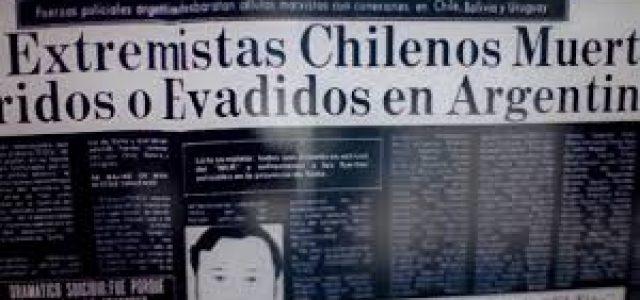 La guerra sicológica y los montajes de la dictadura de Pinochet