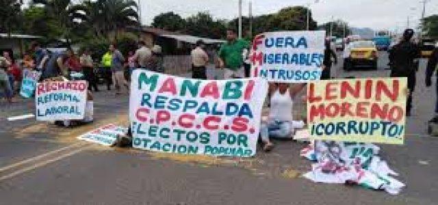 Ecuador – Protestan en todo el país contra recortes del Gobierno de Moreno y acuerdo con el FMI