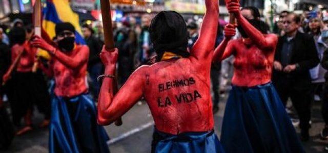 Colombia clama contra la ejecución impune y constante de líderes sociales y activistas