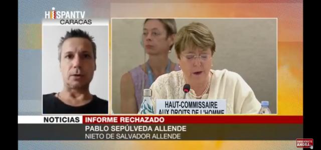 Allende: Informe ONU profundiza campaña antivenezolana de EEUU