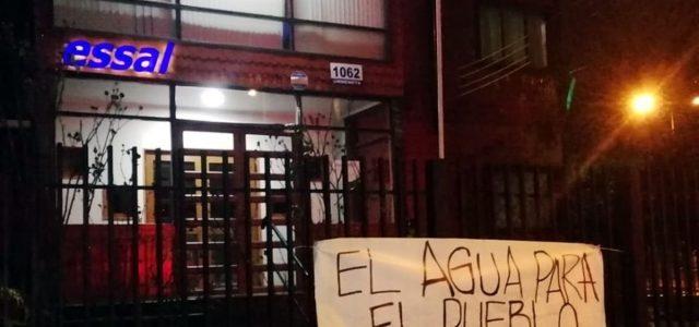 Organizaciones sociales de Osorno piden la caducación de la concesión del agua potable a ESSAL
