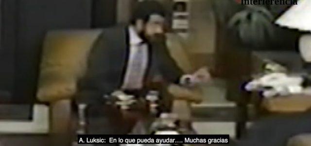 Revelan vídeos de Luksic sobornando al gobierno peruano para instalar fabrica en reserva ecológica