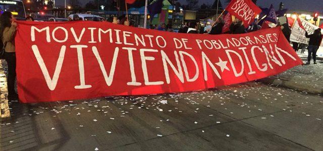 NO AL DESALOJO DE LAS 50 FAMILIAS DEL CAMPAMENTO FREI BONN DE CALAMA