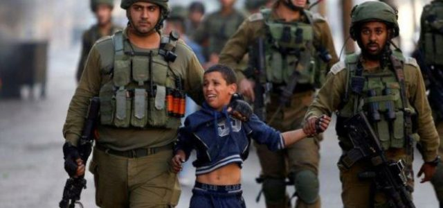 Palestina. Ward (o los niños en prisión)