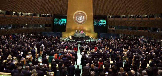 La ONU acepta el arbitrio de derribar gobiernos extranjeros empobreciendo a las poblaciones