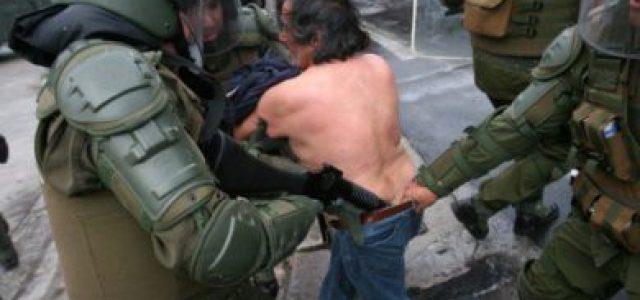 Robar y torturar, prácticas sistemáticas de Carabineros de Chile