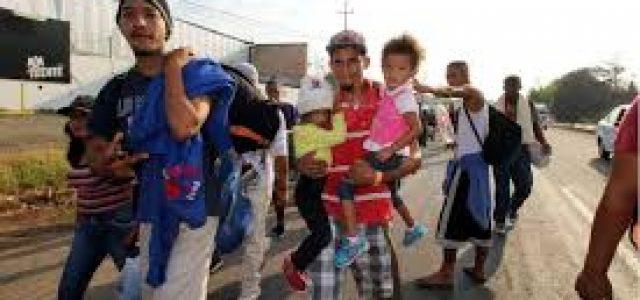 México – El vía crucis de un migrante hondureño