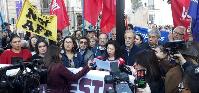Heredera de la Asamblea de la Civilidad: Nace Unidad Social  y convoca a Protesta Nacional el 5 de septiembre 2019.