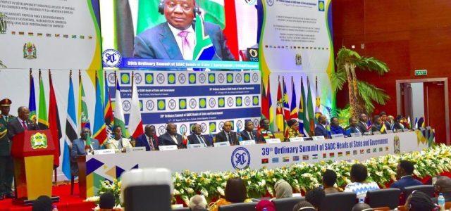 Cumbre Africana SADC reafirma Solidaridad con independencia y autodeterminación Saharaui y solidariza con la RASD.