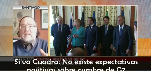 No existen expectativas positivas sobre Cumbre G7. Análisis de Esteban Silva Cuadra en Hispantv