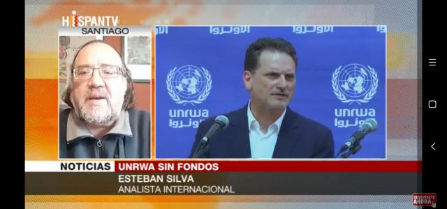 Esteban Silva: EEUU ha hecho que se arrincone el «drama permanente» en Gaza. Análisis en Hispantv
