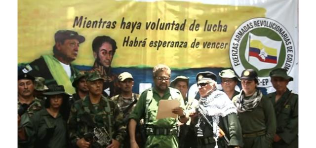 (Vídeo) Ivan Márquez anuncia: «FARC-EP regresa a la lucha armada por «traición del Estado colombiano de los Acuerdos de Paz»».