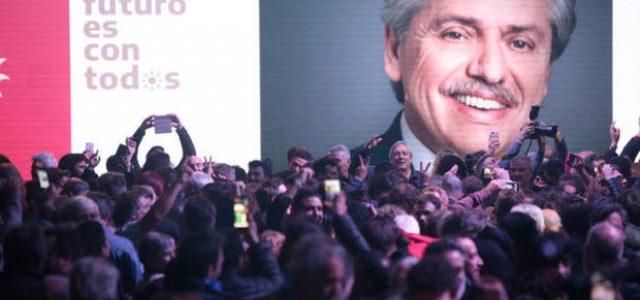 Argentina – Elecciones 2019. Aplastante victoria del Frente de Todos, según los primeros datos con el 47% contra el 33%