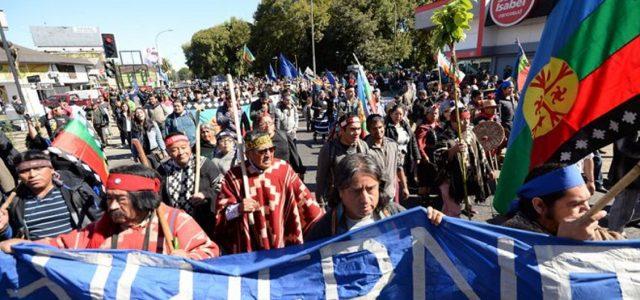 Marcha en Cautín