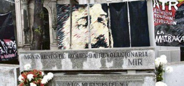 Restos del guerrillero del MIR, Miguel Cabrera, «Paine», serán trasladados a Cementerio General