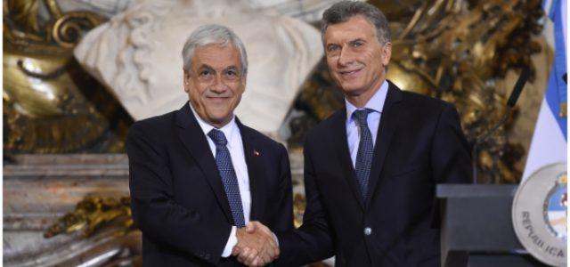 Macri y el efecto contagio mientras Piñera espera su turno