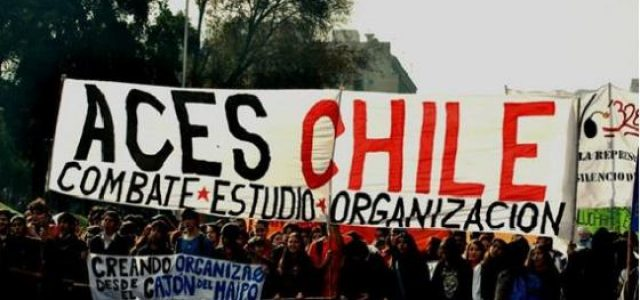ACES ocupa Ministerio de justicia con fuerte represión