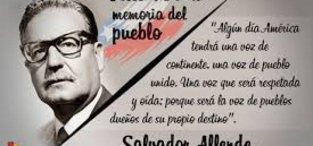 """Allende: """"Pagaré con mi vida la lealtad del pueblo"""""""