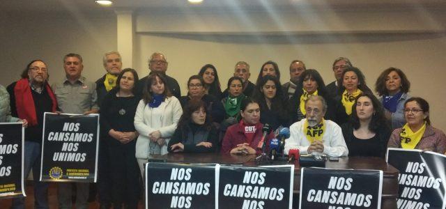 Masiva y exitosa Protesta Nacional convocada por la Unidad Social.