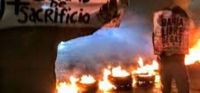 Cortes de tránsito y marchas en el Biobío en una jornada de protesta contra políticas neoliberales