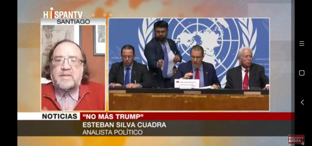 «El gobierno Bolivariano de Venezuela ha tenido una política internacional muy activa en defensa de su autodeterminación y rechazo a la agresión Imperialista». Análisis de la campaña «NO más Trump».