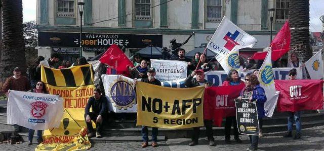 Valparaiso – Jornada de protesta nacional: el tsunami de demandas que sigue creciendo