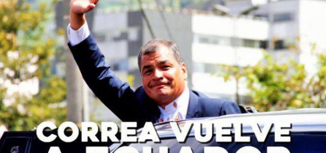 Ecuador – Correa Vuelve en medio de un gran levantamiento popular contra Moreno y el FMI