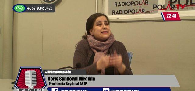 Magallanes – detienen a Doris Sandoval presidenta regional de ANEF