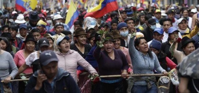 Levantamiento en Ecuador: Por un programa socialista y revolucionario