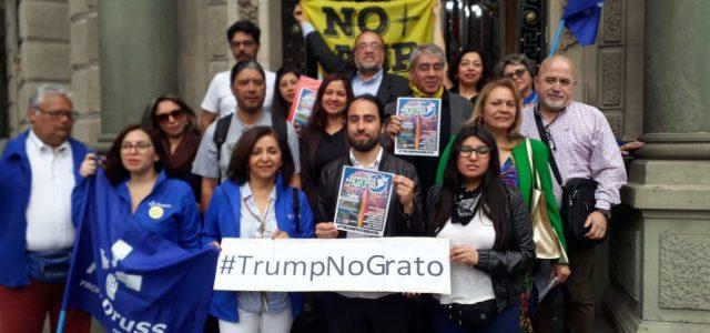 Organizan Concierto por la Paz, y llaman a repudiar la visita de Donald Trump a Chile en la APEC.