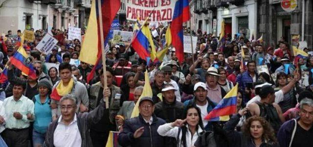 Revuelta popular en Ecuador y el continente