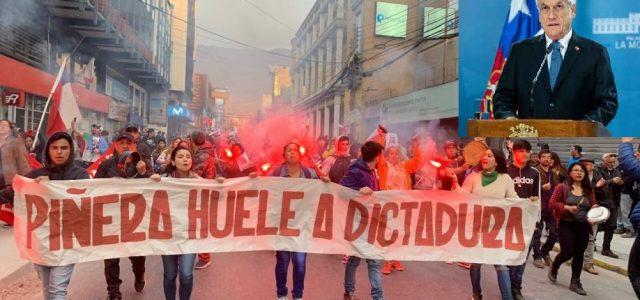 Exigimos la renuncia de Piñera y su gobierno represor – A impulsar Comités de lucha democráticos y  una Asamblea Constituyente Popular