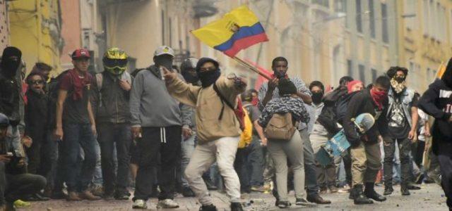 La resistencia a Lenín Moreno y al FMI en Ecuador