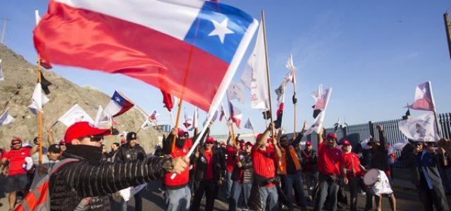 Sindicato N°1 Trabajadores Escondida: «A paralizar, mineras y mineros, a paralizar toda la minería de Chile junto a otros sectores productivos»