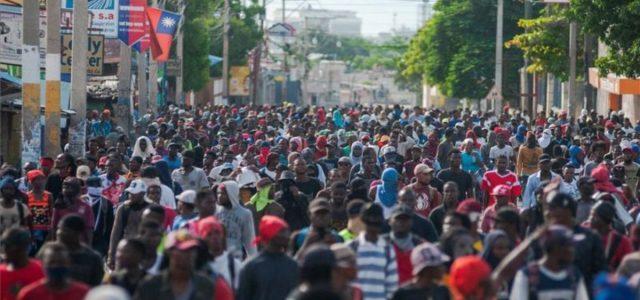 Vuelven las protestas a Haití para exigir la renuncia del presidente Jovenel Moise