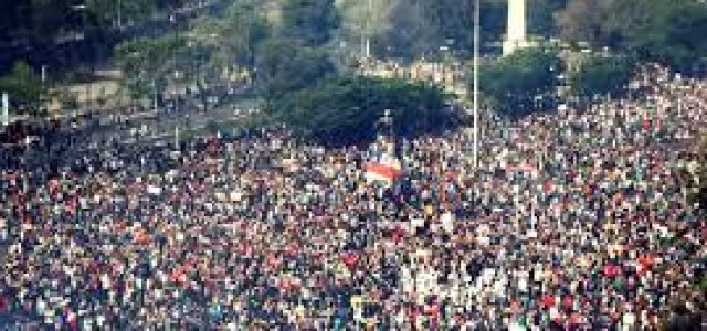 La enorme manifestación chilena de protesta y la necesidad de abrir espacio a la política civilizatoria