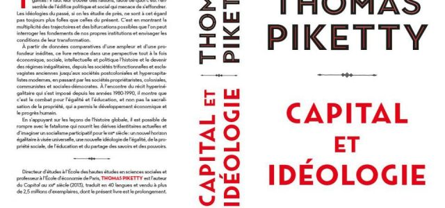 «Capital e ideología» de Thomas Piketty