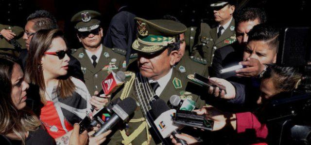 Bolivia – El comandante general de la Policía niega que haya una orden de detención contra Evo Morales