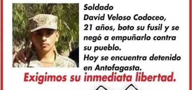 PRIMERA VICTORIA Campaña por la Libertad para el soldado chileno David Veloso