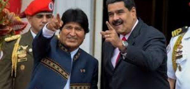 Evo y Maduro: reflexiones