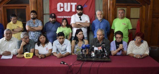 UNIDAD SOCIAL CONVOCA A HUELGA GENERAL EL 26 DE NOVIEMBRE CON ACTIVIDADES DESDE EL LUNES 25