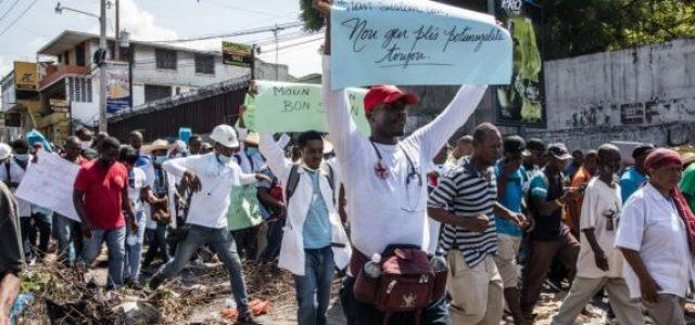 Haití – Ocho semanas consecutivas de protestas antigubernamentales
